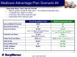 medicare advantage plan scenario 4