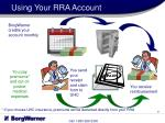 using your rra account