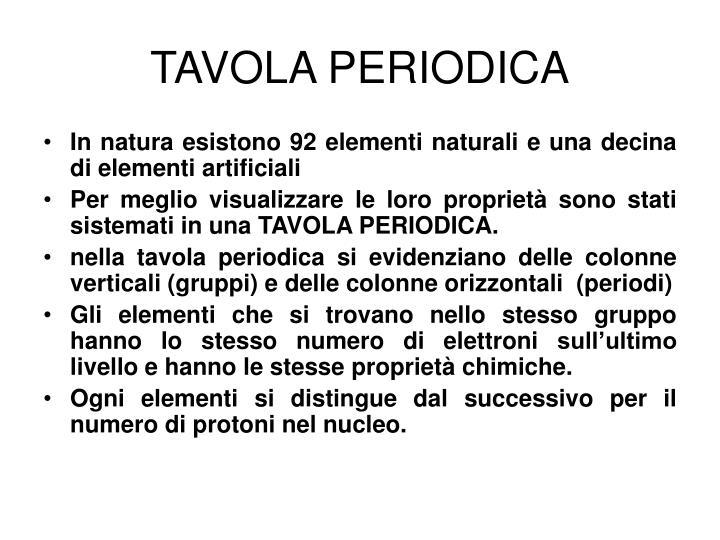 Ppt la tavola periodica powerpoint presentation id 5255552 - Numero elementi tavola periodica ...