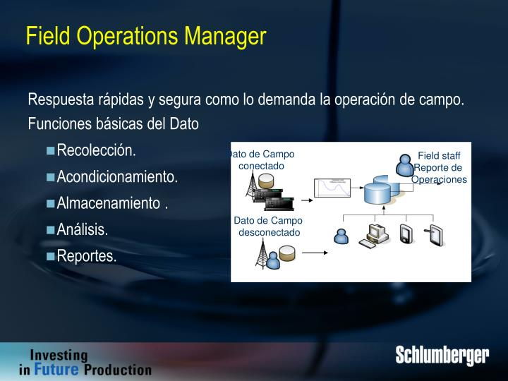 Field Operations Manager