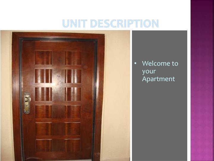 Unit Description