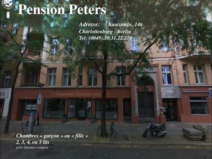 Pension Peters