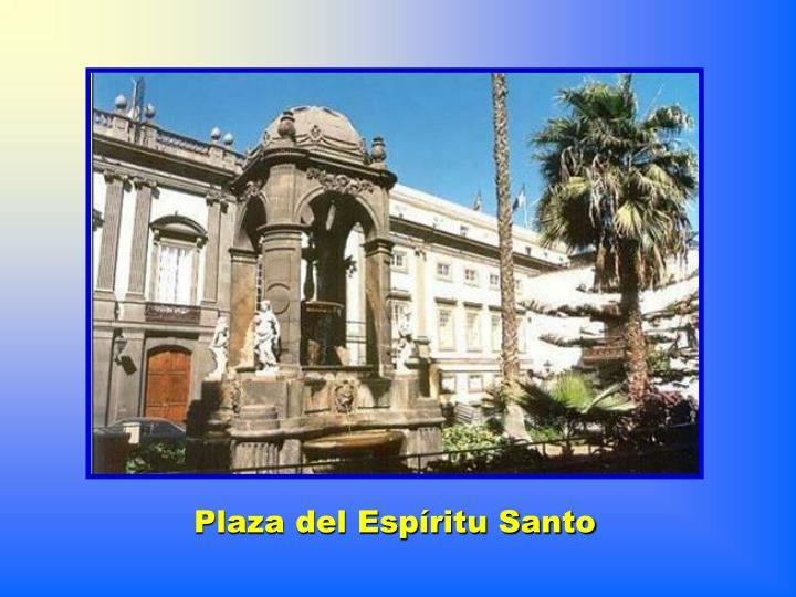 Plaza del Espíritu Santo