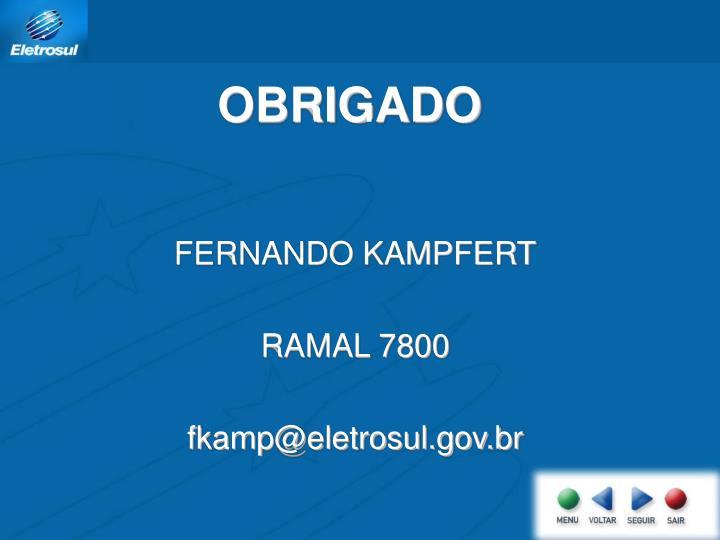 FERNANDO KAMPFERT