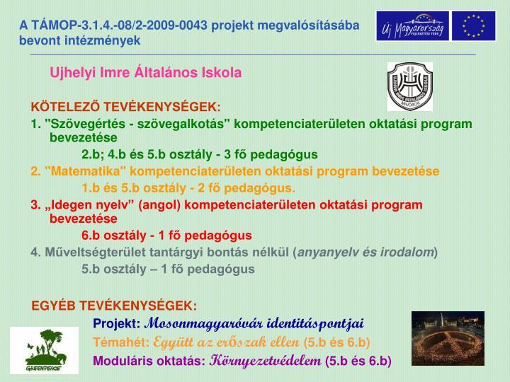 Ujhelyi Imre Általános Iskola
