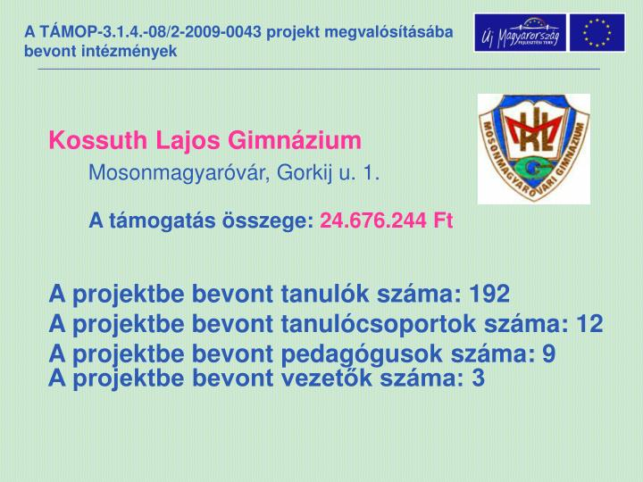 Kossuth Lajos Gimnázium