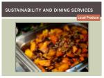 sustainability and dining services