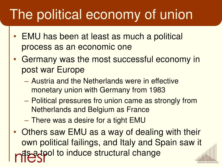 The political economy of union