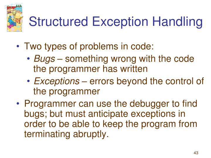 Structured Exception Handling