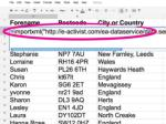 mapping advocacy recipe 13