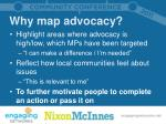 why map advocacy