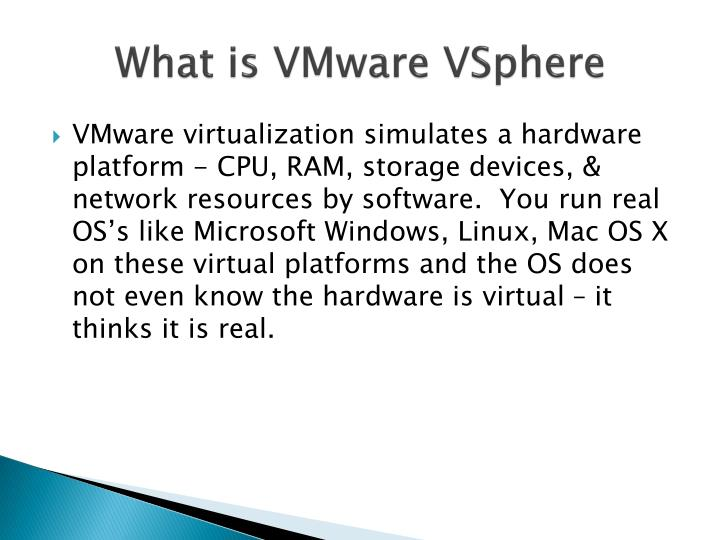 What is VMware