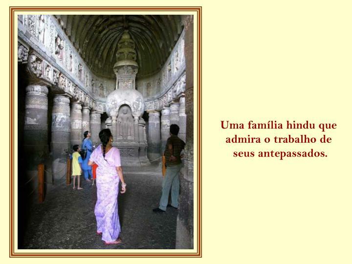 Uma família hindu que