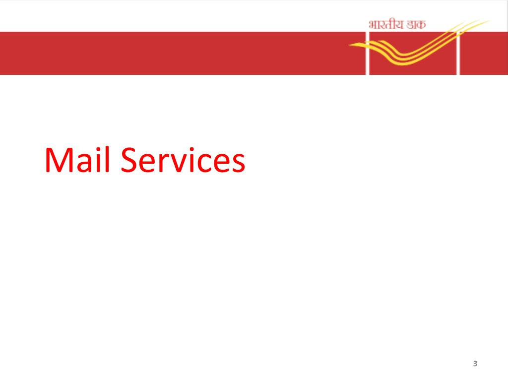 Ppt India Post Products Services Powerpoint Presentation