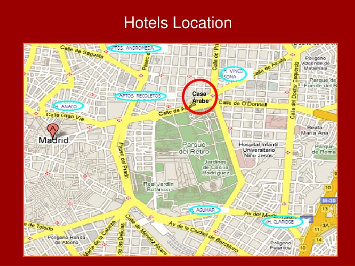 Hotels Location