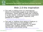 web 2 0 the inspiration