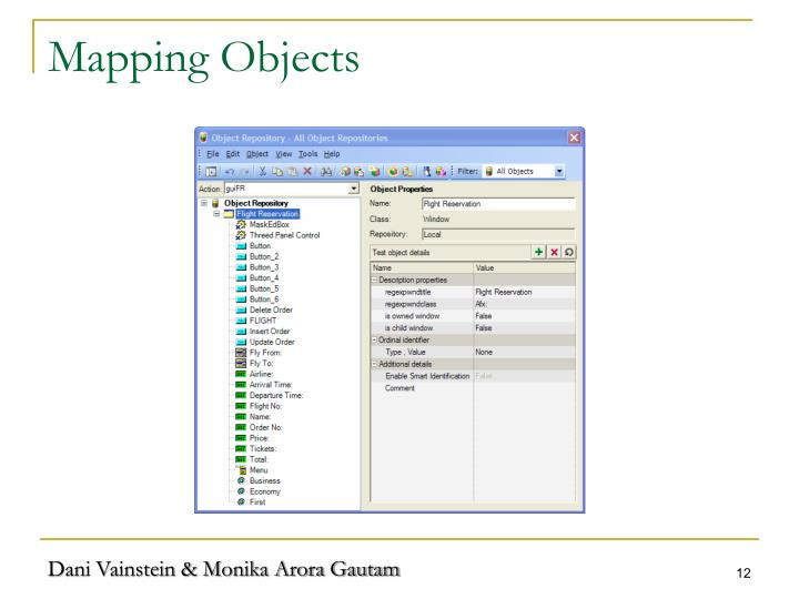 Mapping Objects