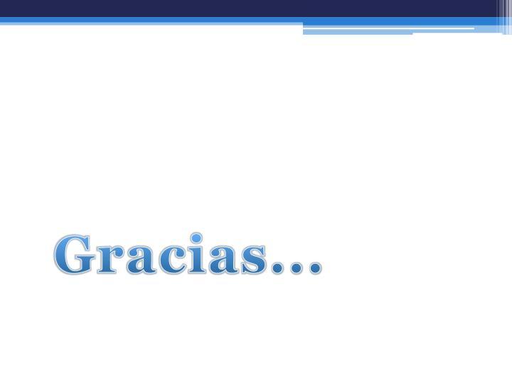 Gracias...