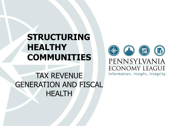 structuring healthy communities n.