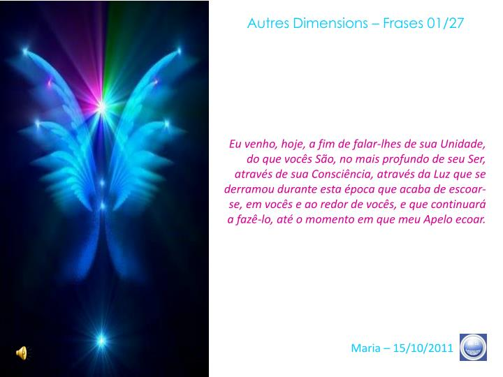 Autres Dimensions – Frases 01/27