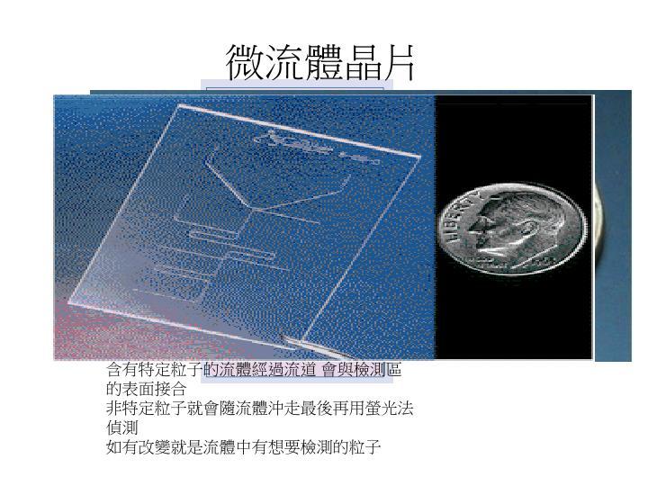 微流體晶片