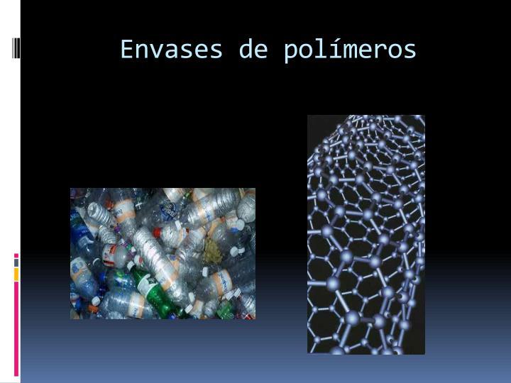 Envases de polímeros