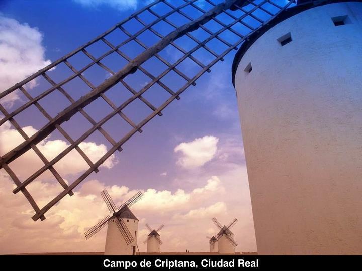 Campo de Criptana, Ciudad Real