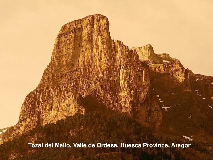 Tozal del Mallo, Valle de Ordesa, Huesca Province, Aragon