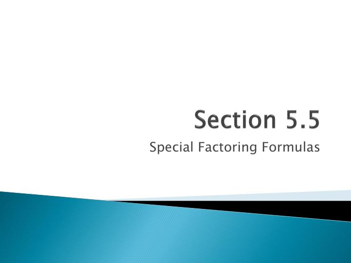 section 5 5