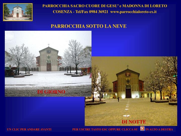 PARROCCHIA SACRO CUORE DI GESU' e MADONNA DI LORETO