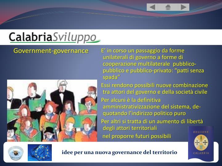 Government-governance
