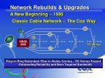 network rebuilds upgrades a new beginning 1995