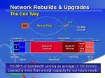 network rebuilds upgrades the cox way