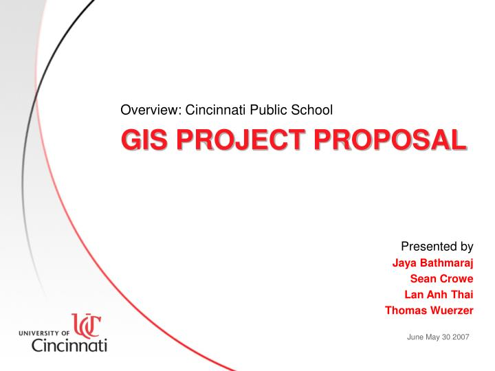gis project proposal n.