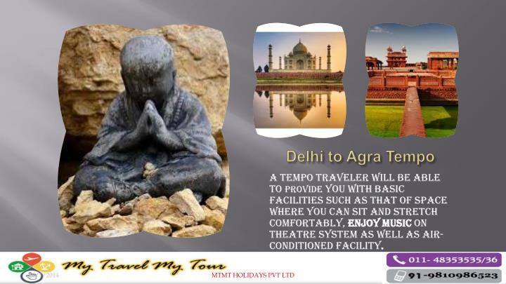 Delhi to Agra