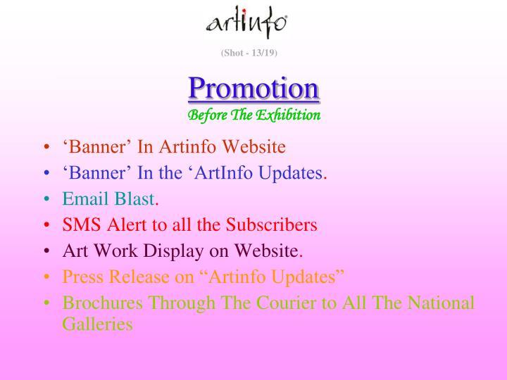 'Banner' In Artinfo Website