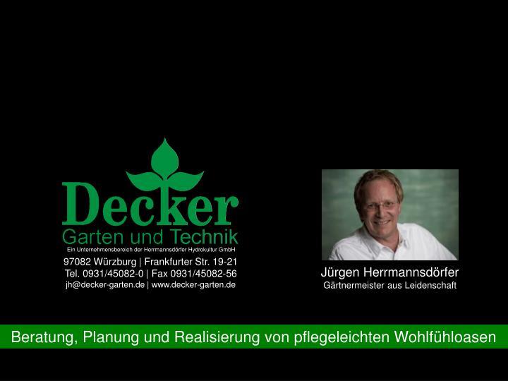 Ein Unternehmensbereich der Herrmannsdörfer Hydrokultur GmbH