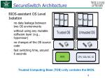 secureswitch architecture