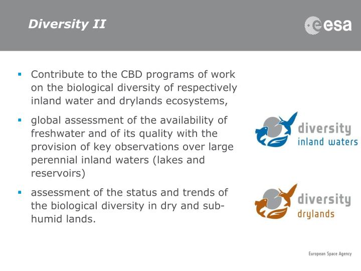 Diversity II
