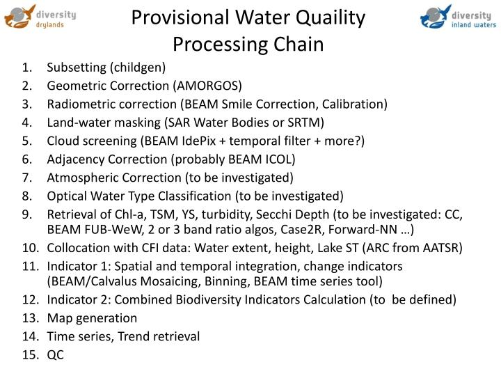 Provisional Water