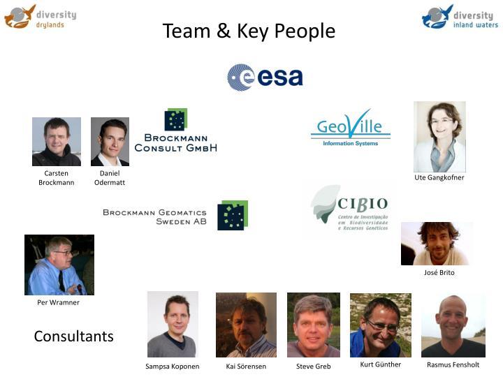 Team key people