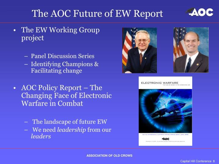 The AOC Future of EW Report