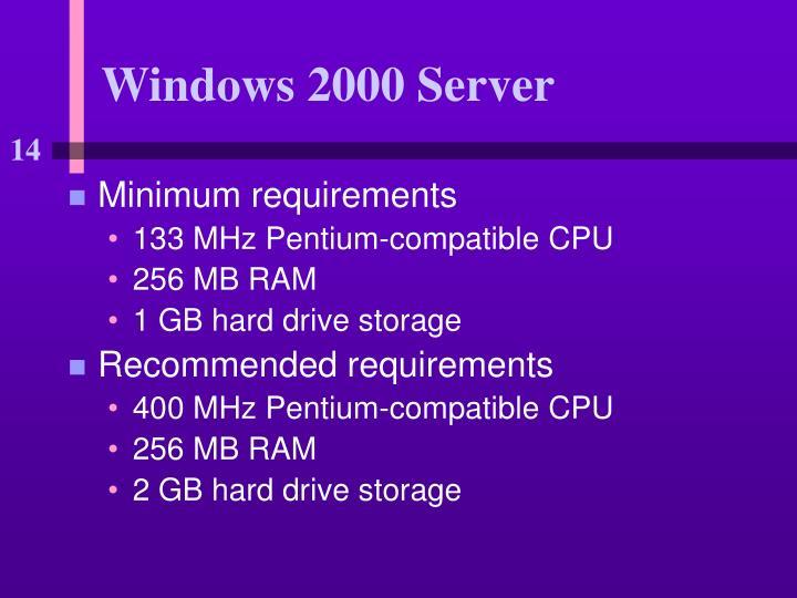 Windows 2000 Server