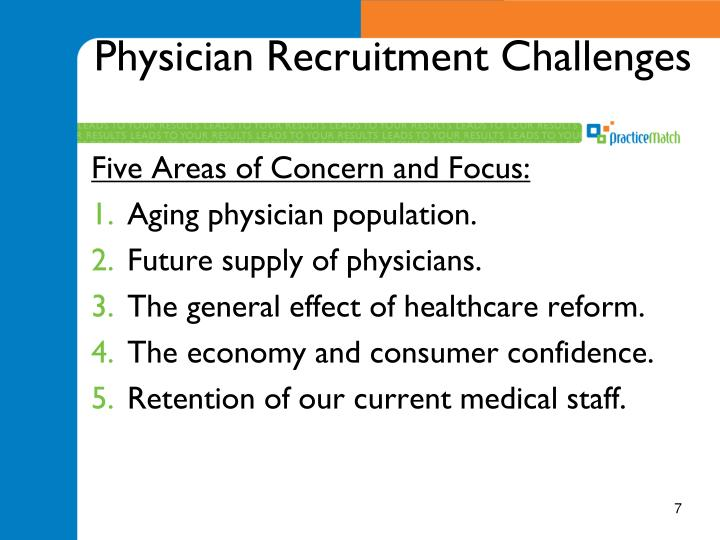 Physician Recruitment Challenges