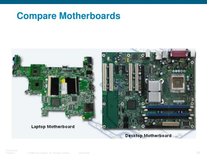 Compare Motherboards