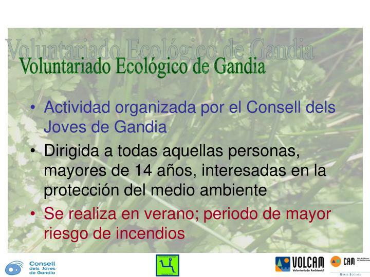 Voluntariado Ecológico de Gandia