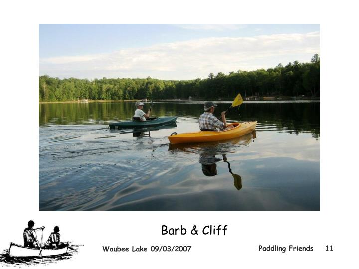 Barb & Cliff
