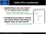 tablet pcs continued1
