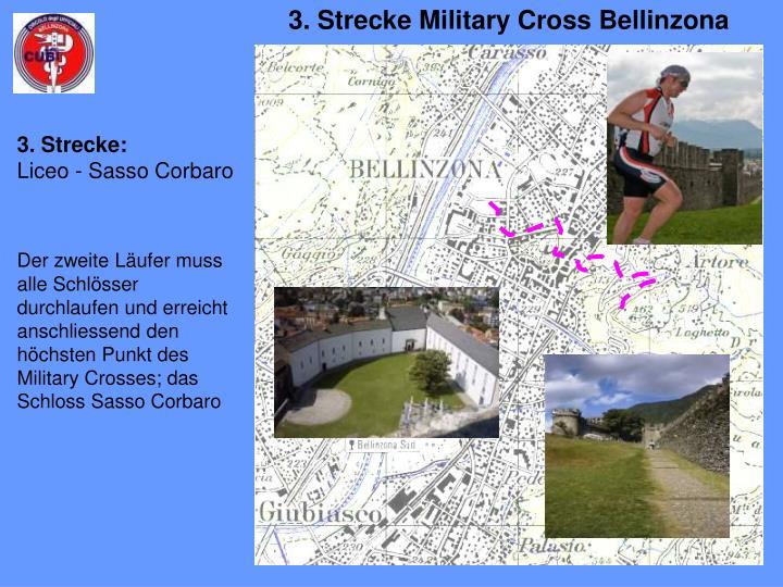 3. Strecke Military Cross Bellinzona