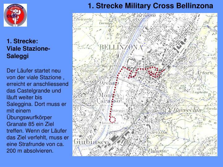 1. Strecke Military Cross Bellinzona